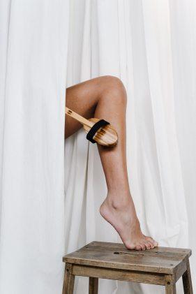 femme jambe